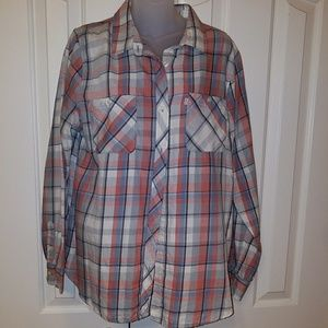 Levi's size L women's button down